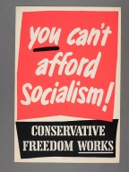 A Conservative poster from the archive