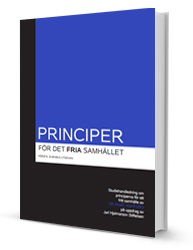 Principles for a free Society is commissioned by the Jarl Hjalmarson Foundation and written as a study guide by Nigel Ashford, an expert in political science