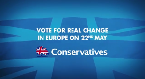 Only the Conservatives have a plan to deliver change in Europe