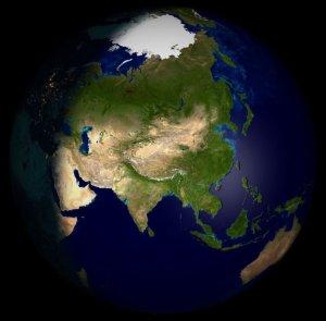 Asia_Globe_NASA