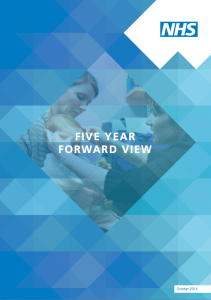PDF version of NHS Five Year Forward View