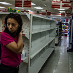 NY Times story: Oil Cash Waning, Venezuelan Shelves Lie Bare