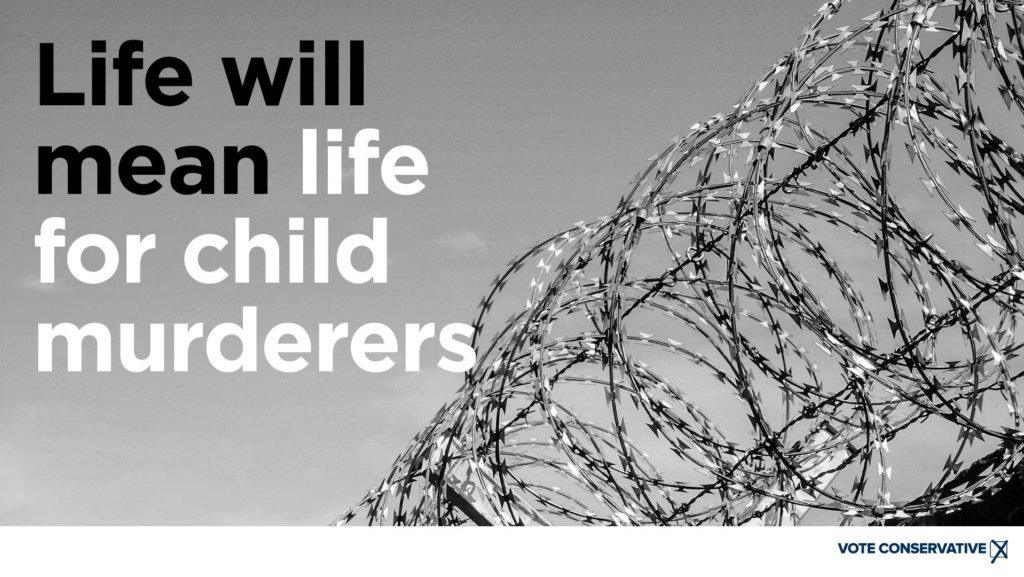 Life will mean life for child murderers