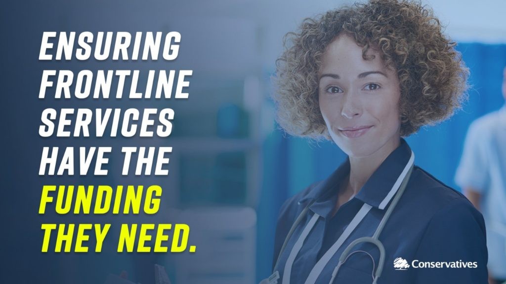 Ensuring frontline services have the funding they need