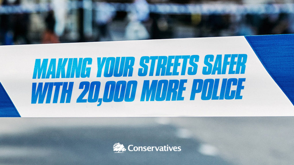 Making your streets safer with 20,000 more police