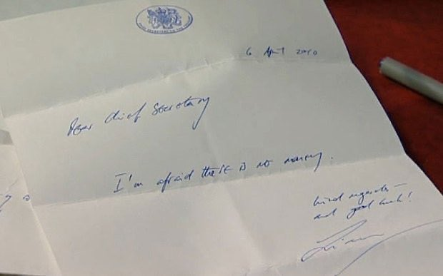 Liam Byrne's letter saying there is no money in 2010