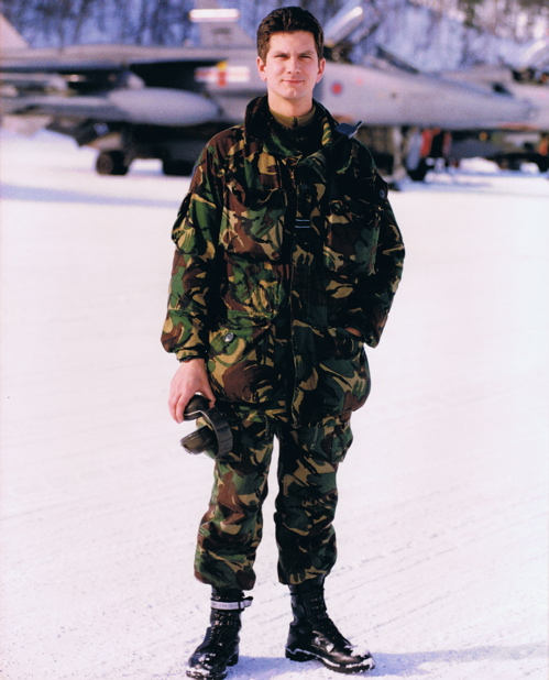 Steve in Norway, 1997