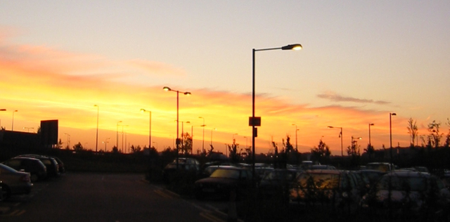 Stanstead sunrise