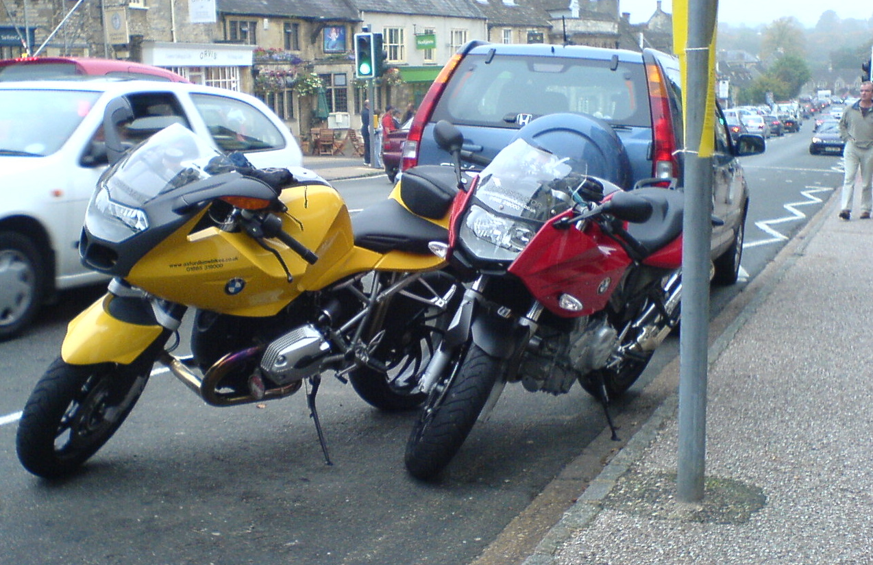 R1200R and F800S in Burford